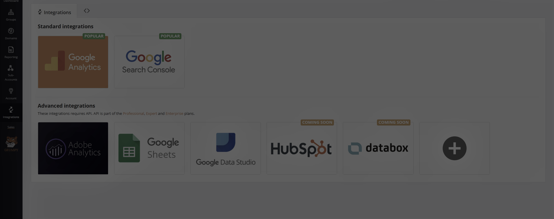 integration of hubspot