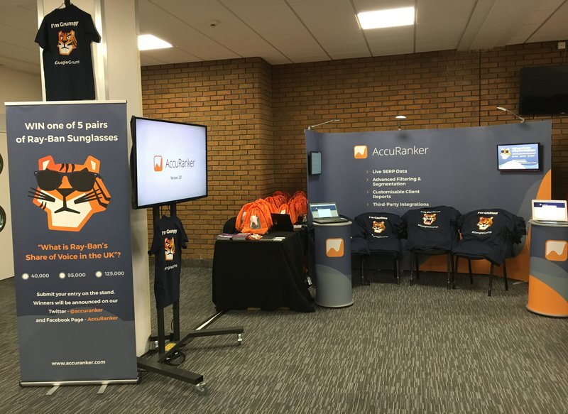 AccuRanker at BrightonSEO