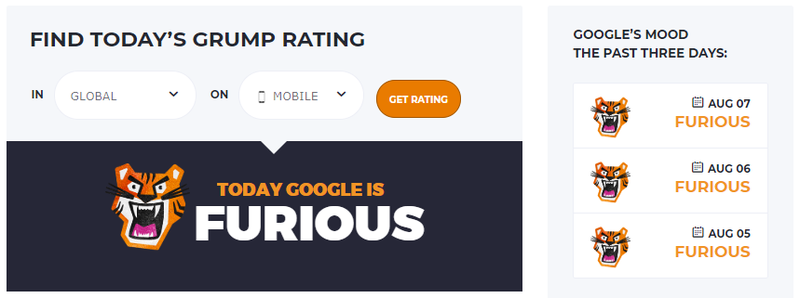 google grump mobile august 7th